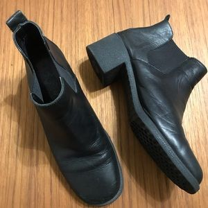 Aerosoles Vintage Chunky Sole Ankle Boots Booties